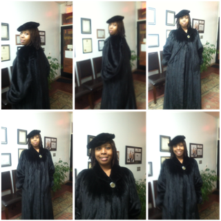 Seleh De Federal Hill,Fur,Tailor Designs - Full Length Black ...